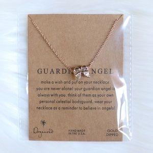 Jewelry - Dainty Guardian Angel Wings Necklace Pendant